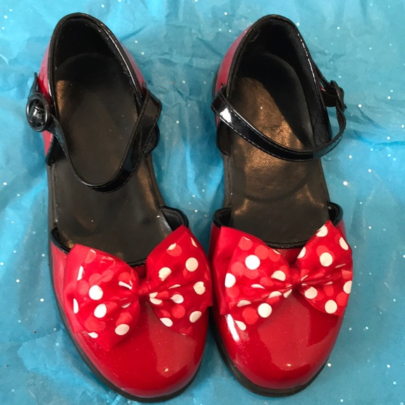 d01aa505ab8 Disney Other - Minnie Mouse dress shoes red 11 12 PRICE FIRM